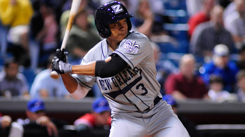 Chris Aguila returns to the Zephyrs lineup after a productive 2011 season.