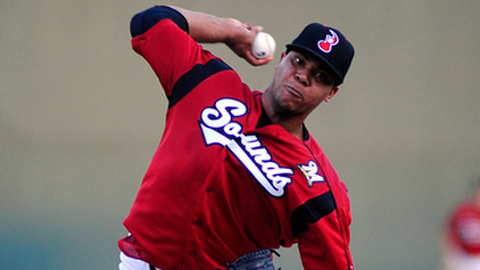 Wily Peralta was third in the Southern League with 117 strikeouts.